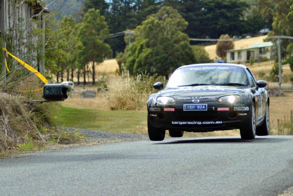 Mazda MX5 Targa Jump Targa Tasmania