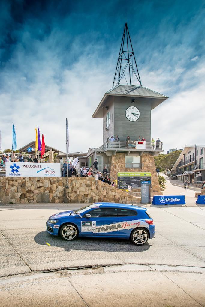 VW Scirocco Targa - Clock Tower
