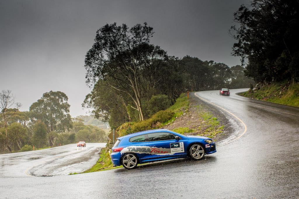 VW Scirocco Targa Wet Hairpin